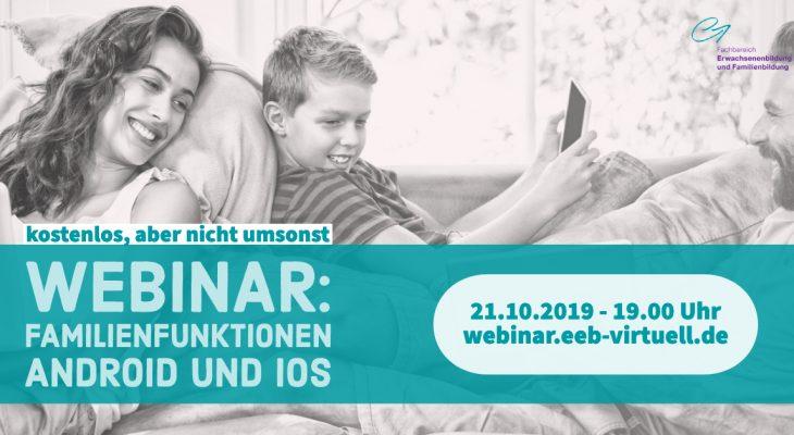 Familienfunktionen unter Android und iOS (EDUtalk-Aufzeichnung)