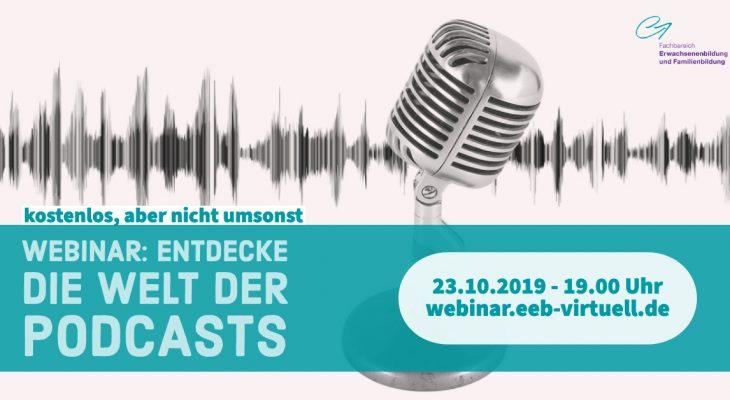 Entdecke die Welt der Podcasts (EDUtalk-Aufzeichnung)