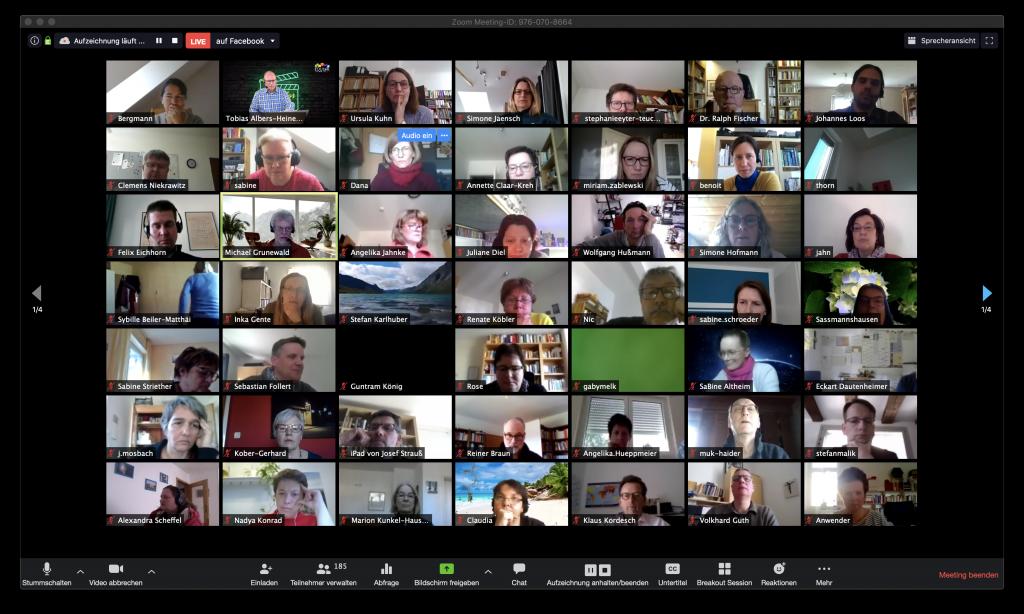 Grundlagen von Zoom-Videokonferenzen (EDUtalk Aufzeichnung)