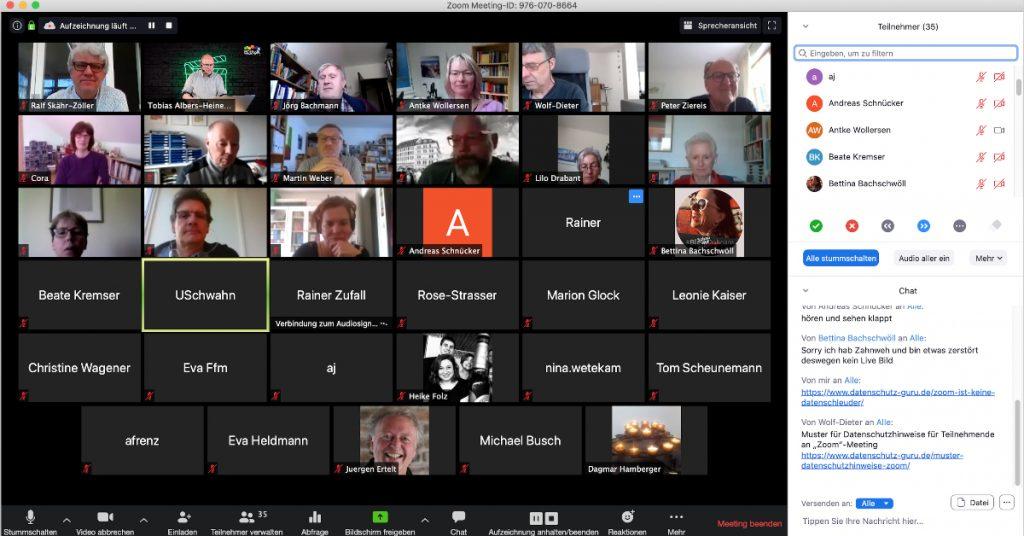 Grundlagen von Zoom-Videokonferenzen – Wiederholung und Rückfragen (EDUtalk Aufzeichnung)