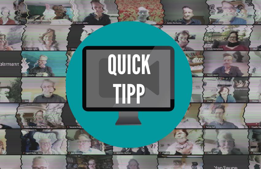 Tipp für die Videokonferenz: Schneller Wechsel zwischen den Programmfenstern