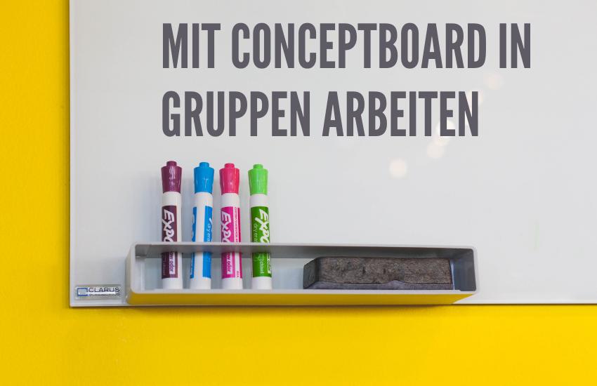 Videoreihe: Mit Conceptboard digital in Gruppen arbeiten